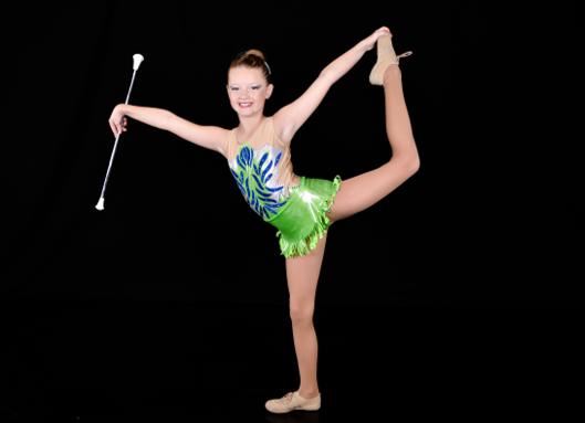 Nederlandse Kampioenschappen Twirlen Sophie